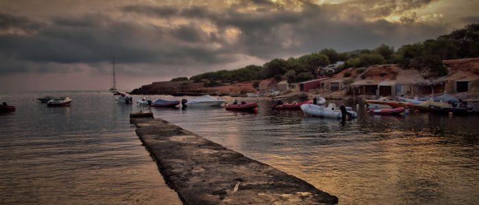 Paisaje de Ibiza